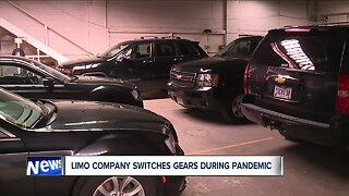 Limo company switches gears during pandemic