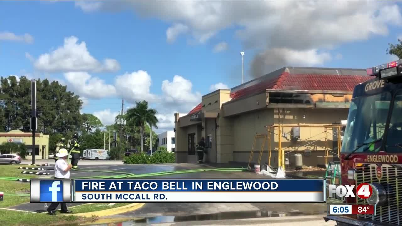 Taco Bell catches fire Englewood