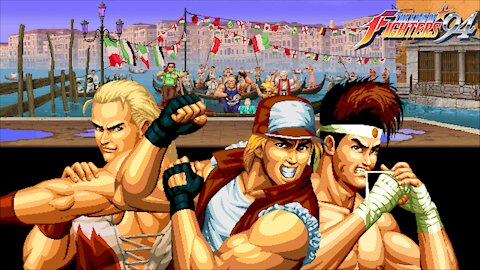 Gaming with CTP: King of Fighters '94 Part 1 of 8: Italy/Fatal Fury Team Playthrough!