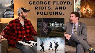 DO WE WANT LESS POLICE? Mark Koran on Qualified Immunity, Law Enforcement, & GEORGE FLOYD TRIAL.