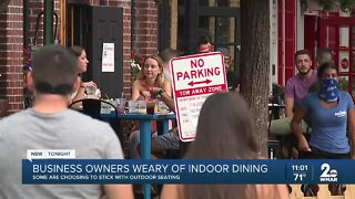 Baltimore City business owners wary of indoor dining