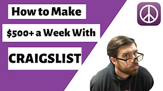 How to Make $500+ a Week with Craigslist
