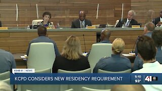 KCPD considers new residency requirement