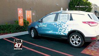 Ford, Walmart team up for delivery service