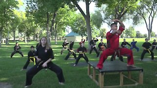 Students raise money to fund Cosmo Zimik's story: The Life of a Dojo Master