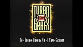 TurboGrafx The High Energy System Promo Video