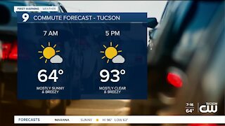 Slightly cooler temps headed our way for the weekend