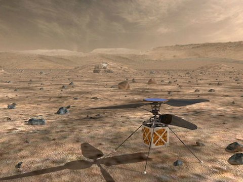 NASA Is Putting a Helicopter on Mars