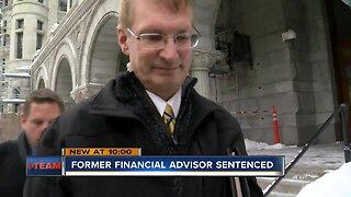Former financial adviser sentenced
