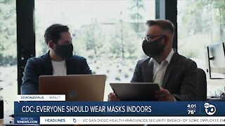 CDC: Fully Vaccinated Americans should wear masks indoors