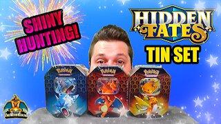 Hidden Fates Tin Set #2   Shiny Hunting   Pokemon Opening