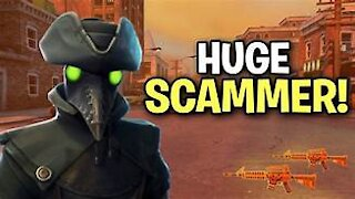 MESSING WITH FORTNITE SCAMMERS
