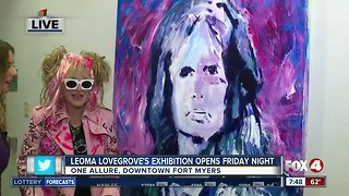 Leoma Lovegrove opens new exhibition in Downtown Fort Myers