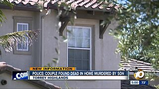 Police: Couple found dead in Torrey Highlands may have been murdered by son
