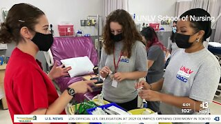 UNLV nurse camp offers Las Vegas youth a look at future opportunities