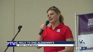 Walk to End Alzheimer's held in West Palm Beach