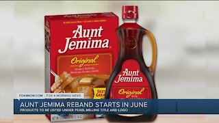 Aunt Jemima products to be phased out