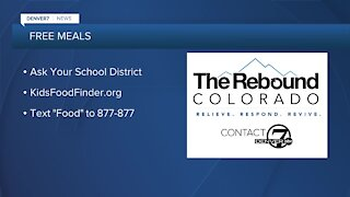 School districts offering free meals - no qualifications