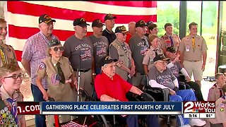 Gathering Place honors veterans in special ceremony