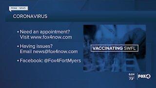 Local vaccine information