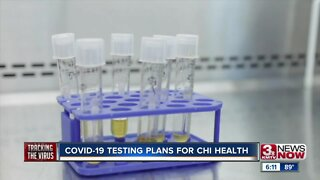 COVID-19 Testing Plans for CHI Health