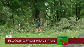 Storm damage across WNY