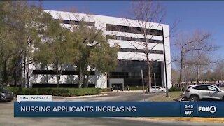 UCF nursing program application increase