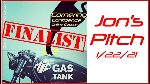 Cornering Confidence Gas Tank Competition Pitch