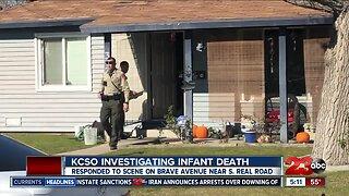 KCSO investigating infant death