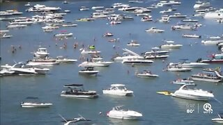 Thousands of boaters hit South Florida waters despite coronavirus concerns