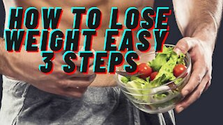 How to lose weight step 1