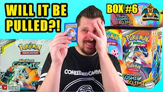 Cosmic Eclipse Booster Case (Box 6) | Charizard Hunting | Pokemon Opening