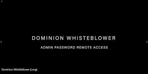 Dominion Whistle Blower BIOS Leak!