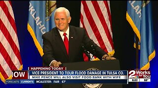 U.S. Vice President Mike Pence to visit Tulsa and tour flood-damaged areas
