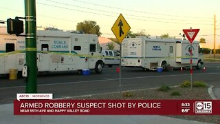 Phoenix police shooting near 55th Ave and Happy Valley Road