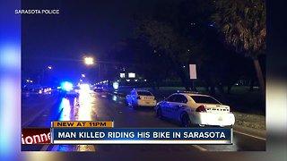 Sarasota Police investigating after bicyclist killed in crash