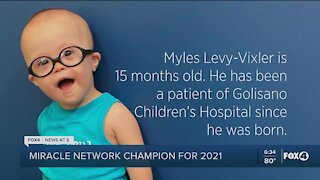 Children's Miracle Network Champion for 2021