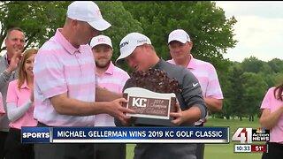 Michael Gellerman wins 2019 KC Golf Classic