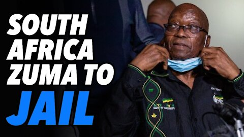 South Africa former President Zuma, 15 months in jail