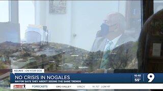 Nogales Mayor says city has not seen a spike in asylum seekers yet