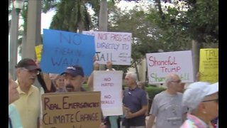 Protests against President's national emergency