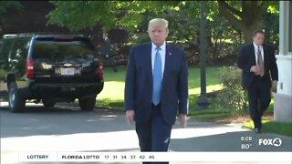 President Trump starts week long campaign