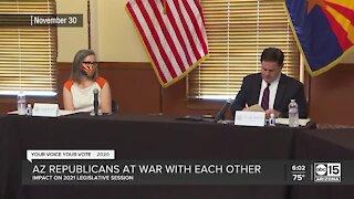 What role will Republican discord have on 2021 legislative session?