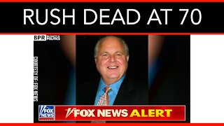 Conservative Legend Rush Limbaugh Dies At 70