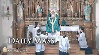 Holy Mass for Wednesday June 9, 2021