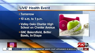 Health and fitness fair Saturday at Valley Oaks Charter High