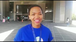 SOUTH AFRICA - Cape Town - World Peace Walk. (VIDEO) (iib)