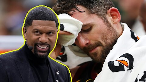 Kevin Love OUT of Olympics with injury!   ESPN's Jalen Rose must be happy TOKEN WHITE GUY is GONE!