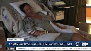 Arizona man paralyzed after contracting West Nile virus