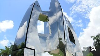 New sculpture in Boca Raton speaks to 'love of aviation'